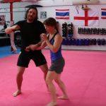 Defense against a straight stab tutorial