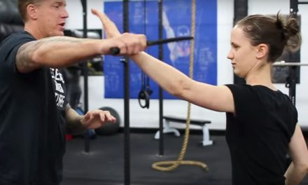 Krav Maga knife drill explanation