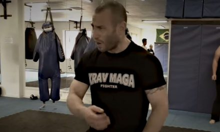 Lior Offenbach called the Krav Maga beast