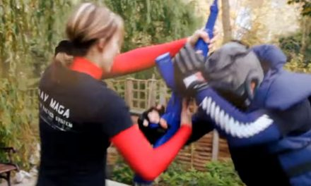 Motivational Krav Maga for women