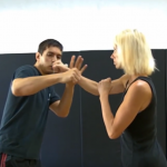 Krav Maga's counterattack against a right punch