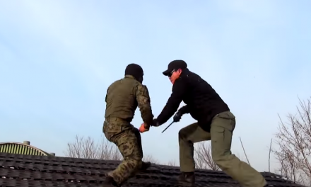 Korean special forces Krav Maga training